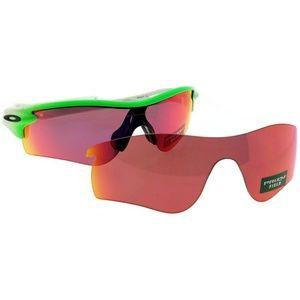 OO9181-57 Men's Green Frame Polarized Sunglasses
